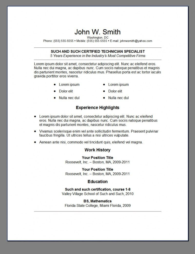 14 resume template reddit collection