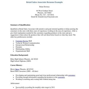 Resume Template Retail Sales - Resume for Retail Pretty Retail Store Resumes Resume for Retail