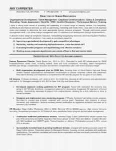 Retail Management Resume Template - Retail Management Resume Template