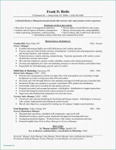 Retail Resume Template Free - 21 Resume for Supervisor Example
