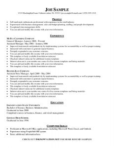 Reverse Chronological Resume Template Word - Chronological Resume format Template Simple General Resume Template
