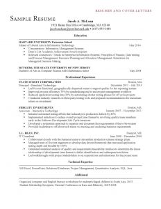 Rutgers Business School Resume Template - 50 Best Mba Resume Template