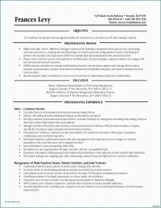Rutgers Resume Template - Resume Job Objectives Administrative assistant Hr Administrative