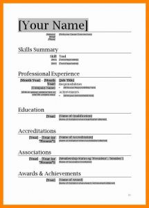 Sailing Resume Template - Resume Template Ms Word 2007 Inspirational Download Resume Templates