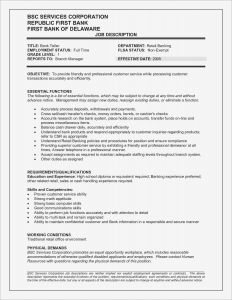 Sales Job Description Resume - Customer Service Job Description Resume Awesome Inspirational Resume