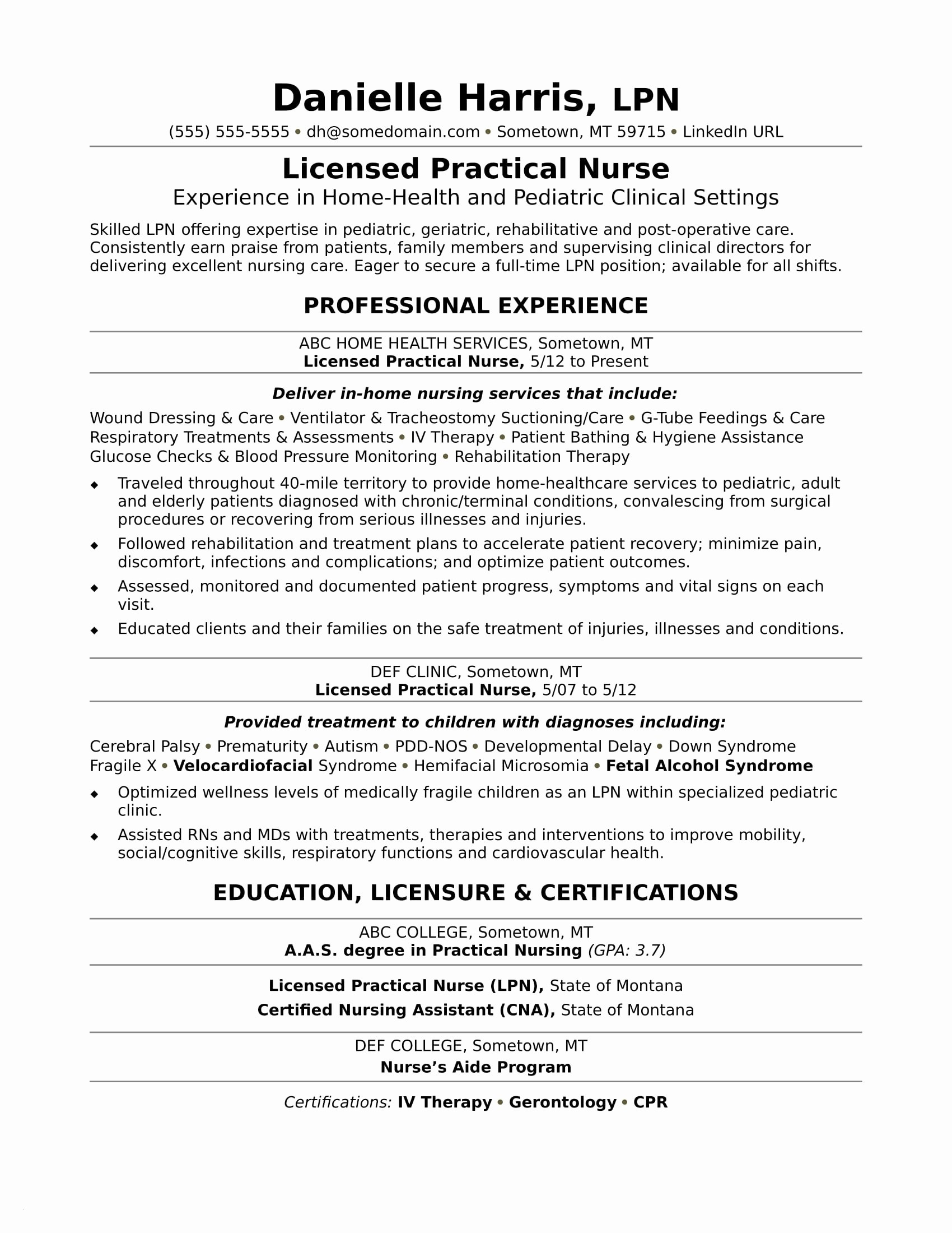 salesperson resume template example-Salesperson Resume Template Fresh New Nurse Resume Awesome Nurse Resume 0d Wallpapers 42 Beautiful Awesome 15-d