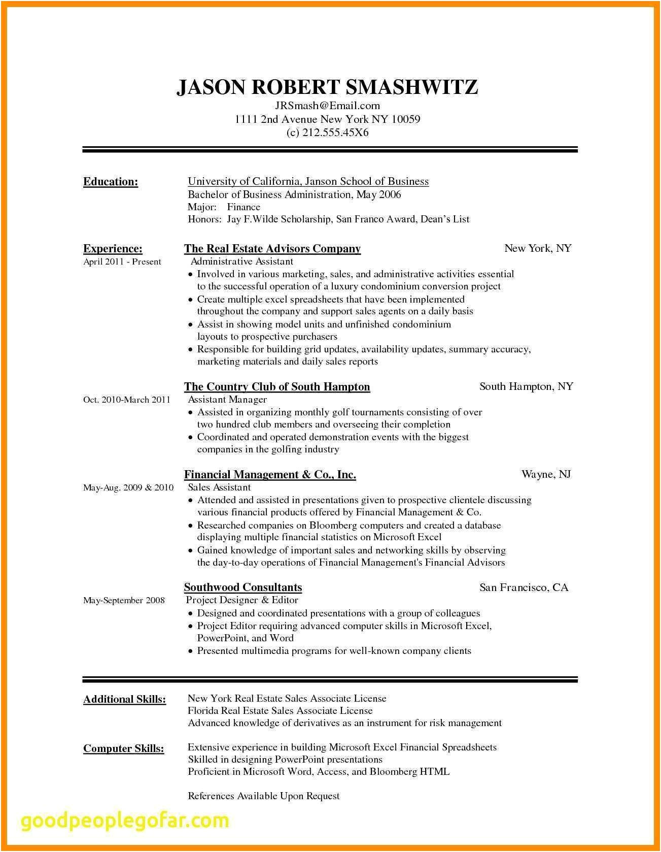 sample chronological resume template Collection-Lovely Chronological Resume Sample American Resume Sample New Student Chronological Resume Template Lovely Pr Resume 1-q