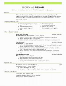 Scientist Resume Template - 55 Fresh Science Resume Examples