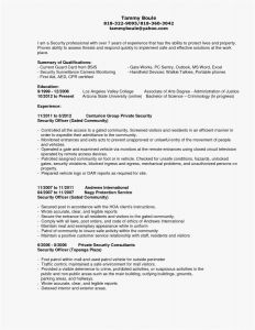 Security Resume Template - Server Resume Template Fresh Masters Degree Resume Free Download
