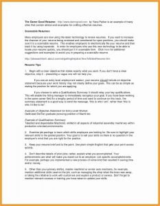 Senior Manager Resume - Entry Level Management Resume Samples New Executive Level Resume