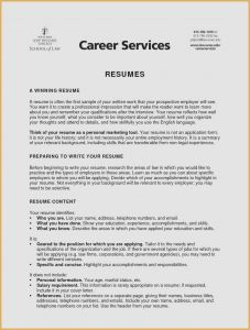 Should I Use A Resume Template - 21 Cover Letter and Resume Example Picture