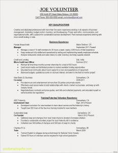 Social Media Marketing Resume Template - New Stay at Home Mom Resume Sample