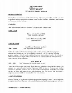 Social Resume Template - 41 New Sample Resumes for Teachers