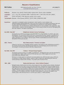 Software Engineer Resume Template Word - Simple Resume Template Word Lovely Resume 52 New Cv Templates Full