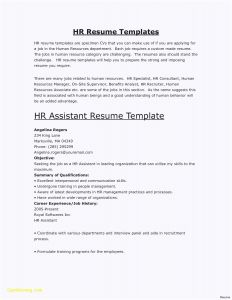 Software Engineer Resume Template Word - Frisches Word Vorlage Brief