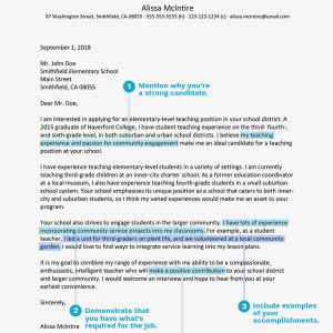 Special Education Teacher Resume Template - Teacher Cover Letter Example and Writing Tips
