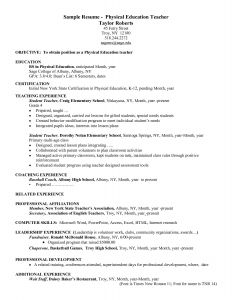Special Education Teacher Resume Template - Sample Special Education Teacher Resume