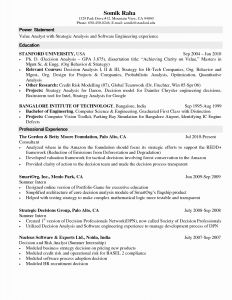 Stanford Resume Template - Stanford Resume Template Beautiful Professional Essay Writing