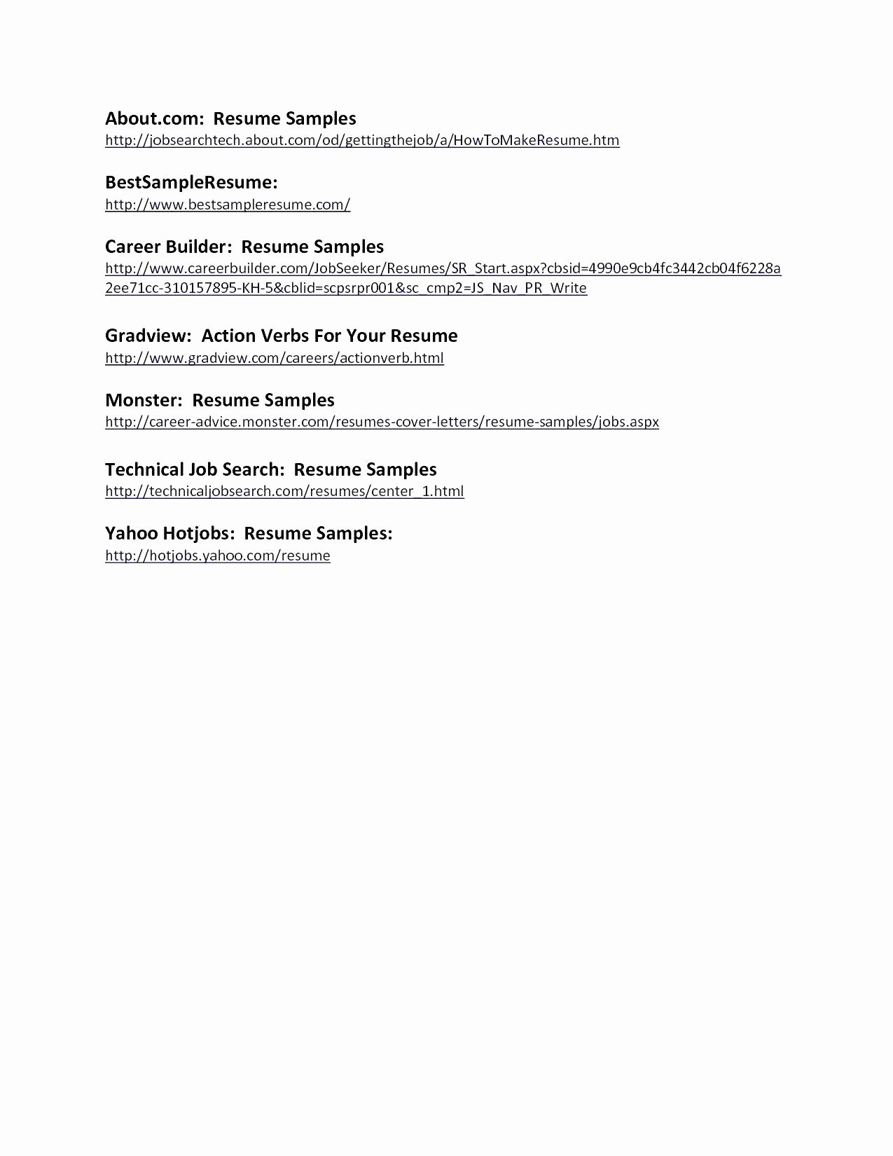 8 student athlete resume template examples