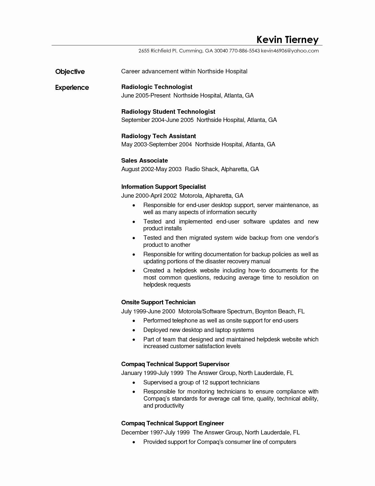 surgical tech resume template example-37 Fresh Surgical Tech Resume Sample 13-m