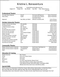 Talent Resume Template - Acting Resume Sample Lovely Talent Resume Template Best Acting