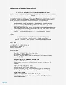 Teacher assistant Resume Template - Resume Sample for Teachers
