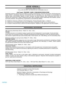 Teacher assistant Resume Template - Resume Examples for Teacher assistant Elegant Resume for Highschool
