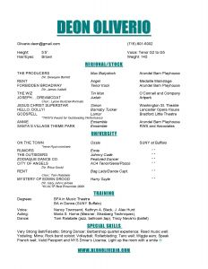 Tech theatre Resume Template - theatre Resume Example New Best Actor Resume Unique Actor Resumes 0d