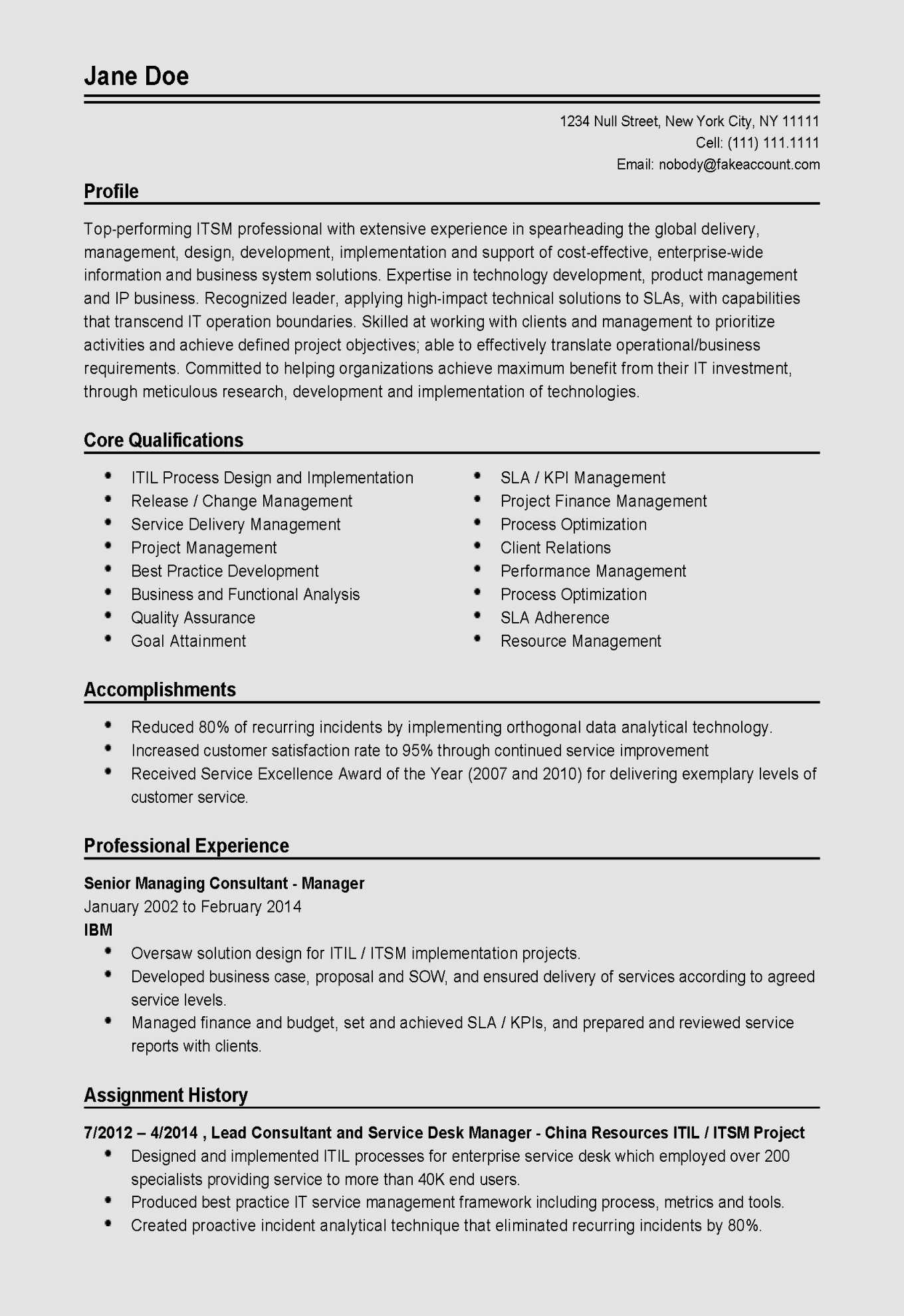 9 technical support resume template samples  resume template