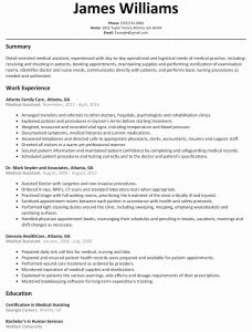 Tradesman Resume Template - 63 Lovely Image Resume Templates for Medical assistant