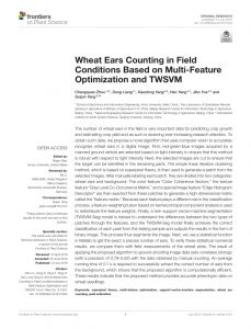 Uh Resume Template - Pdf Estimates Of Plant Density Of Wheat Crops at Emergence From