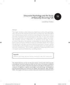 Uh Resume Template - Pdf Discourse Analysis as A Way Of Analysing Naturally Occurring Talk