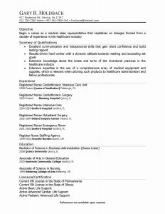 Uiuc Resume Template - Objective Resume Samples New Unique Business Resume Objective New I