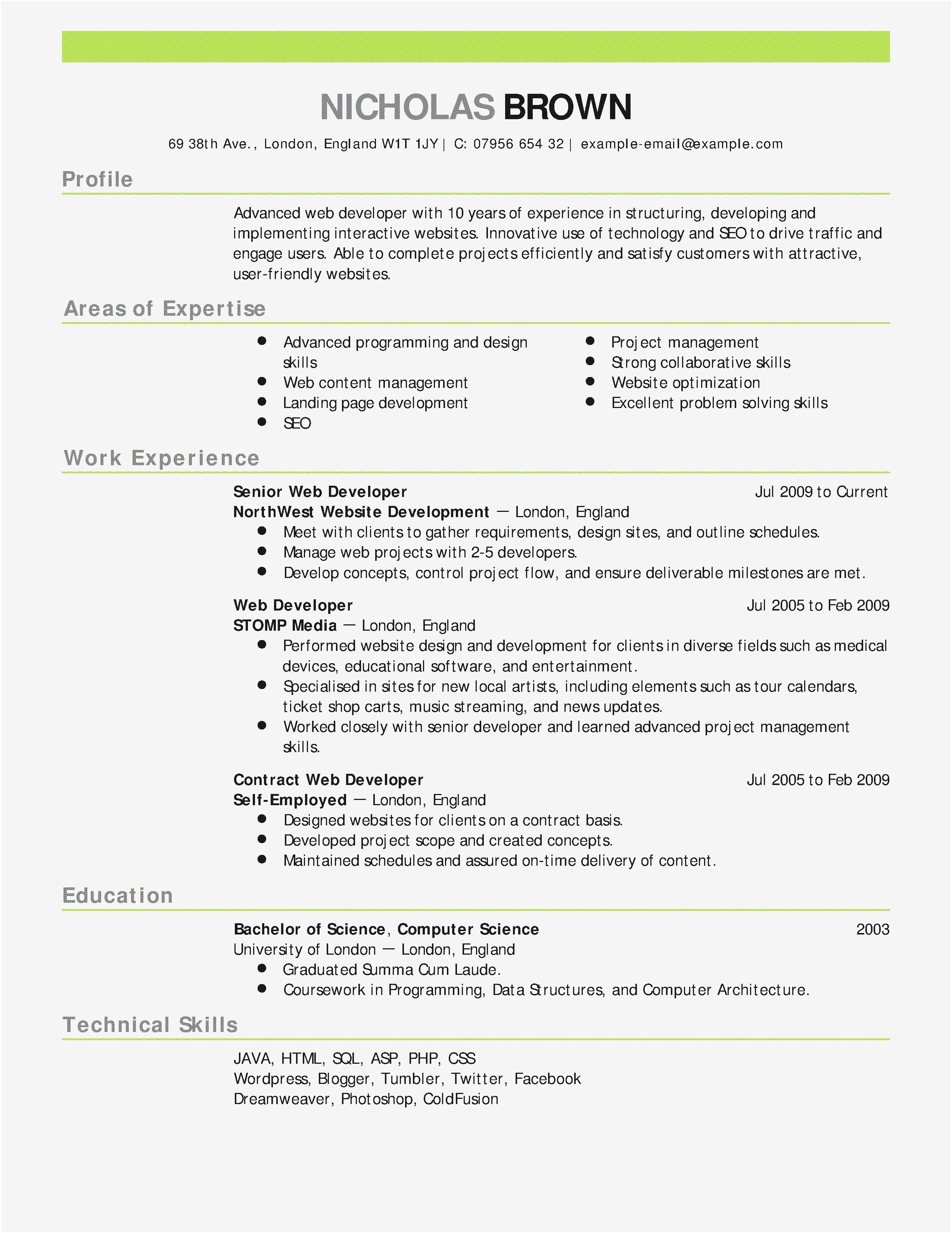 utd jsom resume template example-It Resume Template 17 It Resume Template 9-a