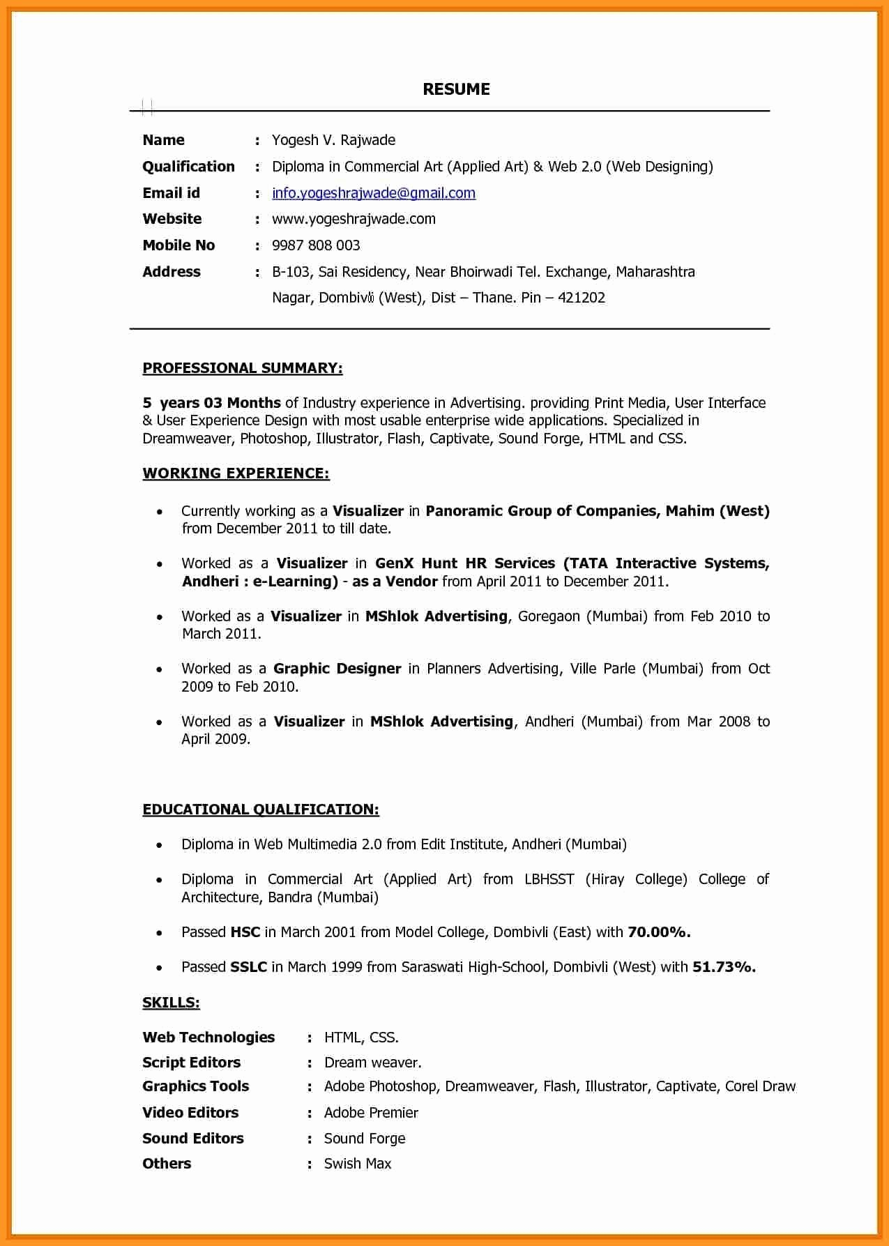 ux resume template Collection-Beautiful Resume Puter Skills Examples Fresh Od Specialist Sample 5-e