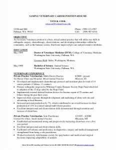 Vet Tech Resume Template - Counselling Letter Template 2018 Professional Pharmacy Tech Resume