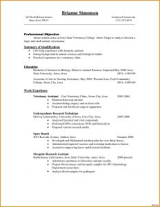 Veterinarian Resume Template - Vet Tech Resume Luxury Best Pharmacy Technician Resume Template