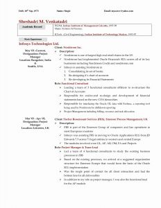 Wall Street Oasis Resume Template - Bank Resume Template Stunning Banking Resume format Funfpandroidco