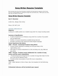 Writer Resume Template - Resume Writing Template Inspirational Free Resume assistance