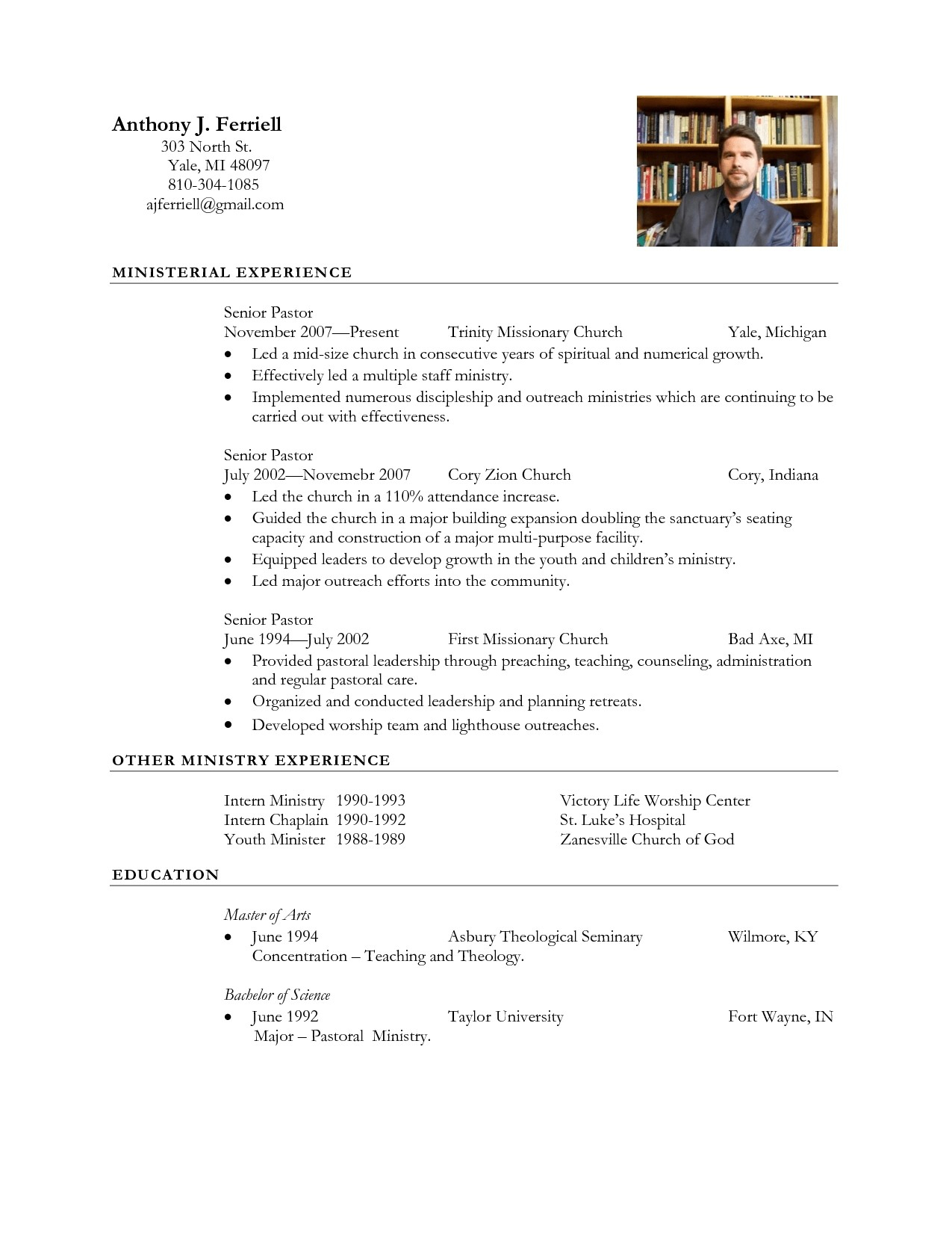 12 Yale Resume Template Samples Resume Template