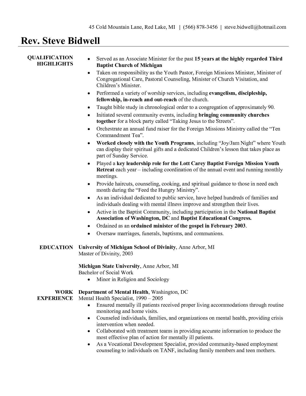 youth pastor resume template example-Youth Pastor Resume Awesome Pastor Resume Template Free Unique Qlikview Resume Sample Luxury Od Youth 6-i